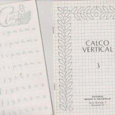 Libros de segunda mano: CUADERNOS DE CALCO VERTICAL Nº 3 ( 2 ). Lote 73695251