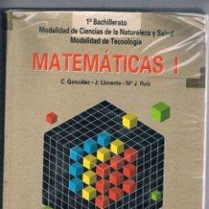 Libros de segunda mano: LIBRO TEXTO MATEMATICAS 1 1º BACHILLERATO EDITEX. Lote 74951915