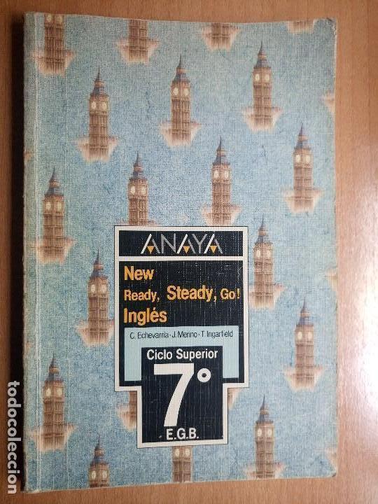 LIBRO DE TEXTO INGLES ANAYA 7 EGB AÑO 1988 (Libros de Segunda Mano - Libros de Texto )