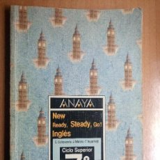 Libros de segunda mano: LIBRO DE TEXTO INGLES ANAYA 7 EGB AÑO 1988. Lote 74983767