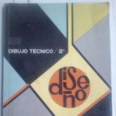 Libros de segunda mano: DIBUJO TÉCNICO 2º BUP EDELVIVES BARNECHEA Y REQUENA 1982 ·. Lote 75224999