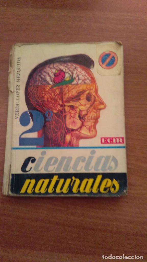 CIENCIAS NATURALES 2º ECIR (Libros de Segunda Mano - Libros de Texto )