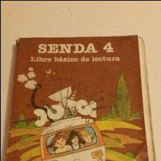 Libros de segunda mano: SENDA 4 LIBRO BÁSICO DE LECTURA EGB EDITOR SANTILLANA, 1982. Lote 121703187