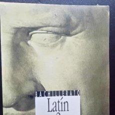 Libros de segunda mano: LIBRO DE TEXTO BACHILLERATO LATIN 2 ANAYA VOCABULARIO Y APENDICES. Lote 77363493