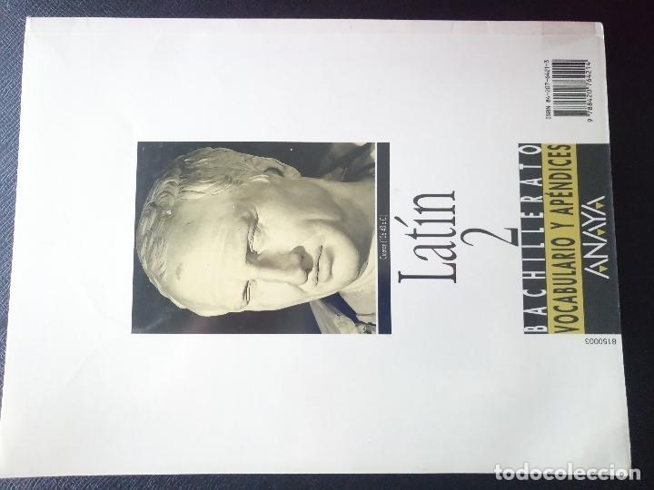 Libros de segunda mano: Libro de texto bachillerato latin 2 anaya vocabulario y apendices - Foto 2 - 77363493