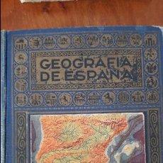 Libros de segunda mano: GEOGRAFIA DE ESPAÑA, EDITORIAL RAMON SOPENA, DE 1943 . Lote 77753245