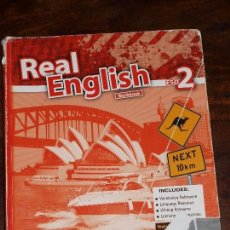 Libros de segunda mano: REAL ENGLISH WORKBOOK 2 ESO.BURLINGTON BOOKS. LINDA MARKS. CHARLOTTE ADDISON. Lote 77814425