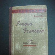 Libros de segunda mano: LENGUA FRANCESA. METODO PERRIER. CURSO PREPARATORIO. . Lote 78838193