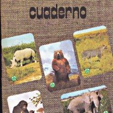 Livros em segunda mão: LIBRETA PORTADA ANIMALES. Lote 267137754