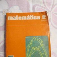 Libros de segunda mano: M69 LIBRO DE TEXTO MATEMATICAS 2º 2 BACHILLERATO EDITORIAL SANTILLANA. Lote 80359765