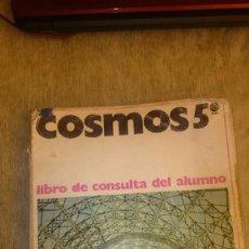 Libros de segunda mano: LIBRO DE TEXTO COSMO 5º EGB. ANAYA. Lote 107442960