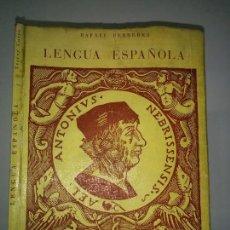 Libri di seconda mano: LENGUA ESPAÑOLA TERCER CURSO 19?? RAFAEL FERRERES ED. ECIR . Lote 81013508