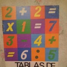 Libros de segunda mano: TABLAS DE ARITMETICA EVEREST - SIN USAR --REFARPUIZES4. Lote 81037112