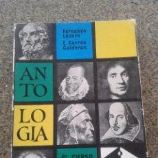 Libros de segunda mano: ANTOLOGIA LITERARIA -- 6º CURSO -- ANAYA -- 1972 --. Lote 81111540