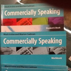Libros de segunda mano: COMMERCIALLY SPEAKING.VICKI HOLLETT. ED. OXFORD. NUEVOS TOTALMENTE. Lote 81329300
