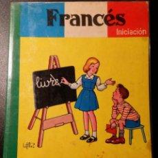 Libros de segunda mano: FRANCES INICIACION SM 1974. Lote 82085256