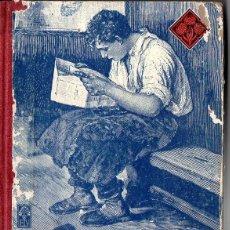 Libros de segunda mano: EDELVIVES LECTURAS GRADO TERCERO 1943 - INCLUYE LA LÁMINA DEL DICTADOR. Lote 82197024