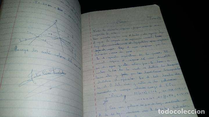 Libros de segunda mano: colegio de santo domingo / pp dominicos / oviedo / manuscrito cuaderno escolar / escrito / 1959 - Foto 2 - 82303168