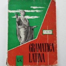 Libros de segunda mano: GRAMATICA LATINA EDICIONES SM FRANCISCO GOMEZ DEL RIO 1959. Lote 82910232