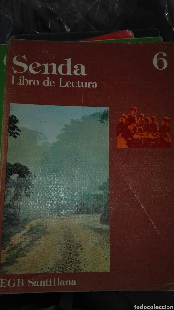 SENDA 6 EGB SANTILLANA (Libros de Segunda Mano - Libros de Texto )