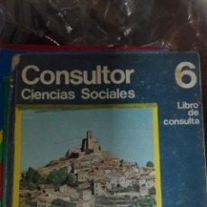Libros de segunda mano: CIENCIAS SOCIALES 6 EGB SANTILLANA. Lote 83028192
