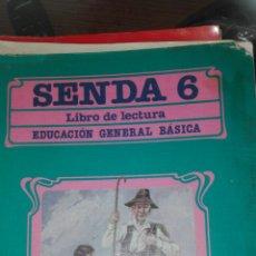 Libros de segunda mano: SENDA 6 EGB SANTILLANA. Lote 83028234
