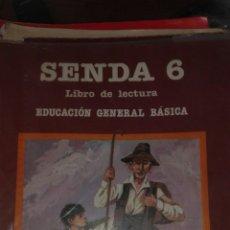 Libros de segunda mano: SENDA 6 EGB SANTILLANA. Lote 83028316