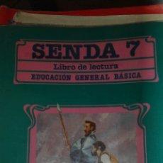 Libros de segunda mano: SENDA 7 EGB SANTILLANA. Lote 83028904