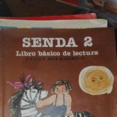 Libros de segunda mano: SENDA 2 SANTILLANA EGB . Lote 83029567