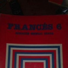 Libros de segunda mano: FRANCES 6 EGB SANTILLANA. Lote 83030551