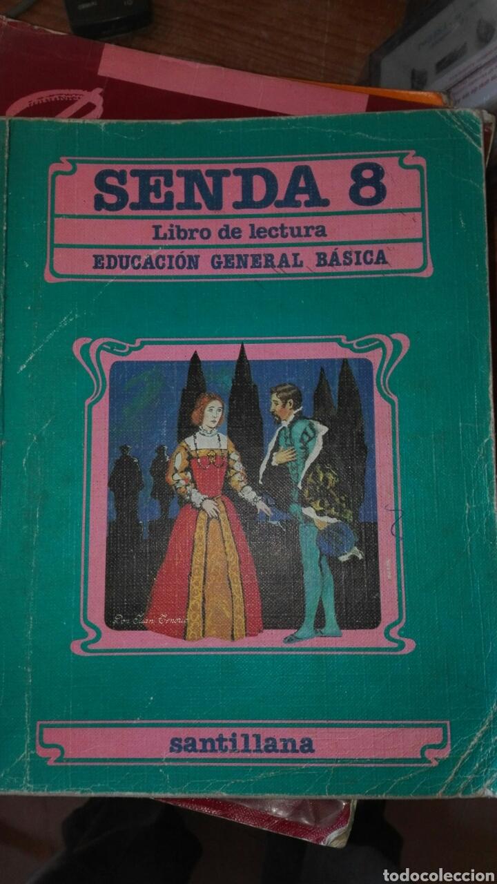SENDA 8 EGB SANTILLANA (Libros de Segunda Mano - Libros de Texto )