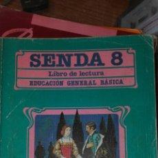 Libros de segunda mano: SENDA 8 EGB SANTILLANA. Lote 83031262