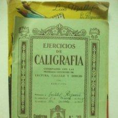 Libros de segunda mano: EJERCICIOS DE CALIGRAFIA CUADERNO NUMERO 20 ELDELVIVES. Lote 83516812