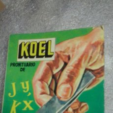 Libri di seconda mano: KOEL.ORTOGRAFIA.27. Lote 83657475