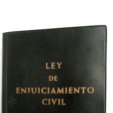 Libros de segunda mano: LEY DE ENJUICIAMIENTO CIVIL, (1971). Lote 83901908