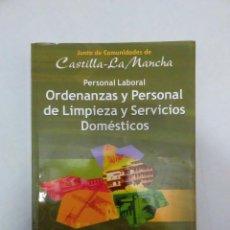 Libros de segunda mano - Cuestionarios psicotecnicos Personal Laboral Castilla Mancha. Ordenanzas. PLSD. Editorial MAD - 2006 - 84024908