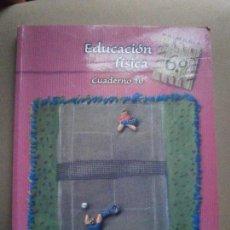 Libros de segunda mano: 1 LIBRO DE TEXTO - EDITORIAL EDELVIVES - AÑO 2002 - EDUCACION FISICA GIMNASIA - 6º PRIMARIA. Lote 84109230