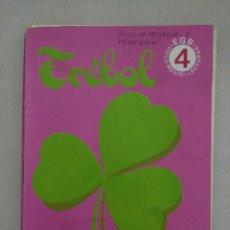 Libros de segunda mano: TREBOL 4 EGB EDELVIVES LIBRO DE LECTURAS. Lote 84145728