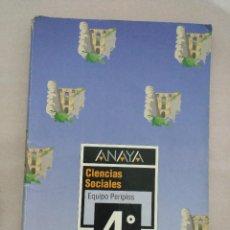 Gebrauchte Bücher - ANAYA CIENCIAS SOCIALES 4 EGB PERIPLOS - 84145752