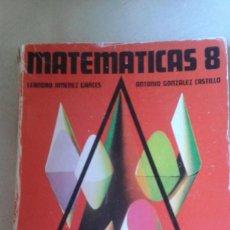 Libros de segunda mano: LIBRO DE MATEMATICAS 8º E.G.B. EDITORIAL ANAYA. Lote 84196480