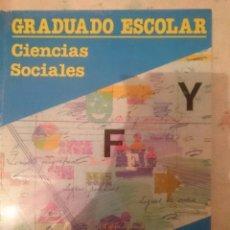 Libros de segunda mano: CIENCIAS SOCIALES -GRADUADO ESCOLAR -EDUCACION DE ADULTOS -ED. SANTILLANA -REFSAMUMEESEN. Lote 84535888