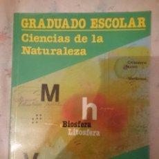 Libros de segunda mano: CIENCIAS DE LA NATURALEZA -GRADUADO ESCOLAR -EDUCACION DE ADULTOS -ED. SANTILLANA -REFSAMUMEESEN. Lote 84535928