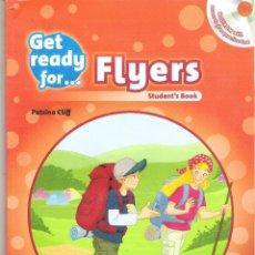 Libros de segunda mano: 1 LIBRO TEXTO AÑO 2013 - INGLES - GET READY FOR FLYERS ( OXFORD - PETRINA CLIFF - STUDENT'S BOOK. Lote 84660710