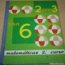 Libros de segunda mano: DOS POR TRES SON SEIS – MATEMÁTICAS 2º CURSO – LIBRO DE EJERCICIOS. Lote 84663464
