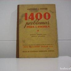 Libros de segunda mano: 1400 PROBLEMAS PARA LA ESCUELA . Lote 85044904