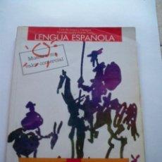 Libros de segunda mano: LIBRO TEXTO LENGUA ESPAÑOLA ANAYA COU LAZARO TUSON. Lote 85453208