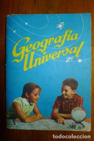 ZUBÍA, ANTONIO M. GEOGRAFÍA UNIVERSAL. 2º AÑO (Libros de Segunda Mano - Libros de Texto )