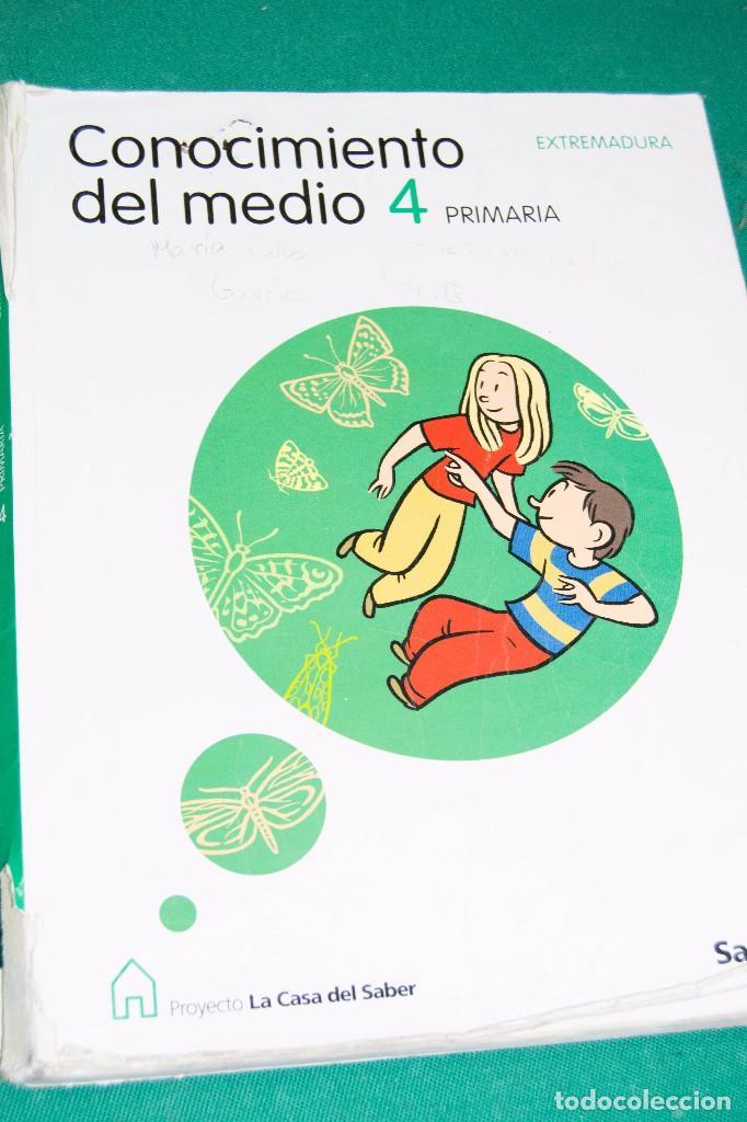 CONOCIMIENTO DEL MEDIO (4º PRIMARIA) - EXTREMADURA - LA CASA DEL SABER