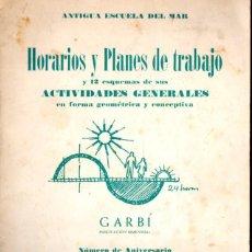 Libros de segunda mano: ANTIGUA ESCUELA DEL MAR NÚMERO 92 ANIVERSARIO (1965) ABUNDANTES FOTOGRAFÍAS. Lote 86812260