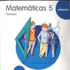Libros de segunda mano: 1 LIBRO TEXTO AÑO 2009 - MATEMATICAS - 5º ESO 5 PRIMARIA ( SANTILLANA GRAZALEMA ). Lote 87461186